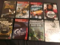 PLAYSTATION 2 ASSORTED GAMES SOME SEALED. ALL TESTED.  GENTLY USED. Hawley, 18428