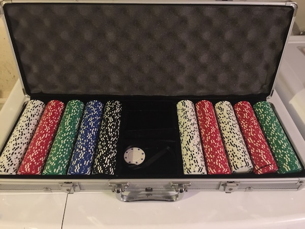 Poker chips sold at Costco