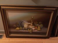 Oil Painting signed Brockton, 02301