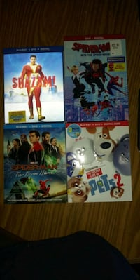 4 movies brand new 40 for all or 10 a movie South Bend, 46616