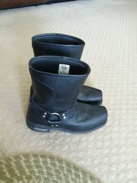 Milwaukee motorcycle boots worn once size 11D  Ypsilanti, 48197