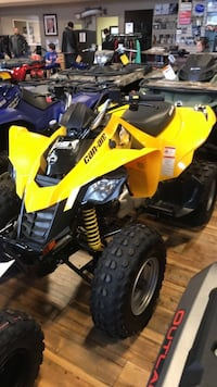 yellow and black Suzuki ATV Hillview, 40229