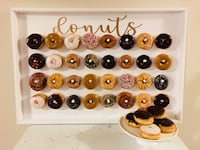 Donuts wall for RENT Toronto, M9R 0A3