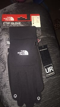 Black north face gloves you can text with this  Frederick, 21702