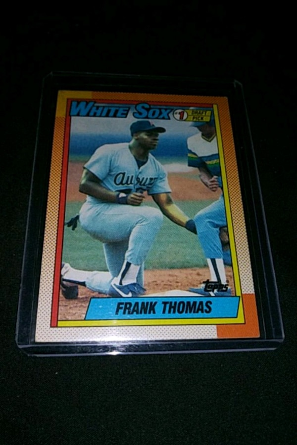 1990 Topps Frank Thomas Rookie Baseball Card