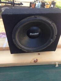 12 inch woofer and sealed wedge box,  Compton, 90222
