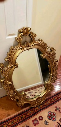 Ornate accent gold wall mirror  Gainesville, 20155