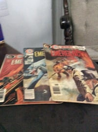 JUST REDUCED MORE  comics All New Emergency 1-3 Rockville