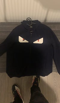Dark Blue Fendi Sweater