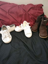 Size 6 toddler's boots and shoes. Lancaster, 40444
