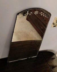 Antique Etched Wall Mirror Manchester Township, 08759