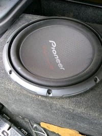 black and gray Pioneer subwoofer Commerce, 30530