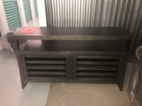 Fairly New Charcoal Gray TV Stand Fairfax, 22033