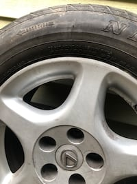 Rims and Tires off Lexus 225/60/16 .. Only 2 Portsmouth, 23703