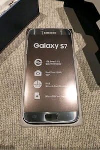 New Samsung Galaxy S7 Unlocked Black Onyx Toronto, M5R 3A6