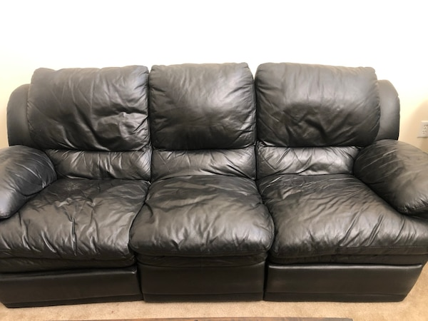 Swell Make An Offer Italian Decoro Leather Reclining Couch Unemploymentrelief Wooden Chair Designs For Living Room Unemploymentrelieforg