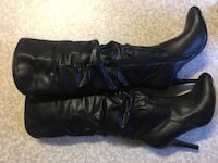 Black knee-high boots size 6 aldo Vancouver, V5L 2E1