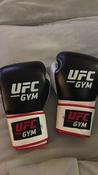 two black-and-red UFC boxing gloves Arlington, 22201