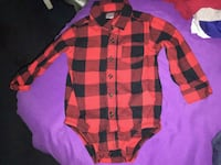 Carter's 3-Pc. Plaid Bodysuit, Suspenders & Jeans Compton, 90220
