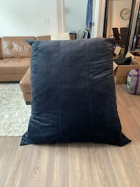 Lovesac - Pillowsac with blue velvet cover and rocker Rockville, 20855