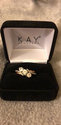 silver Kay Jewelers ring with box Fairfax, 22033
