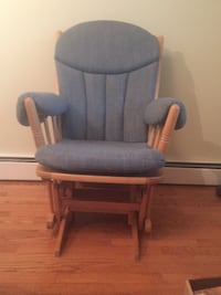 Upholstered Gliding Rocking chair Warrenton