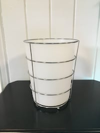 stainless steel framed white bin Melrose, 02176