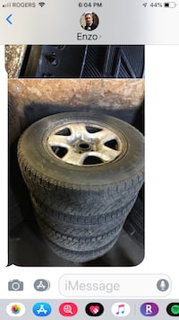 Winter tires. Came off a Rav 4  Toronto, M3N 2C3