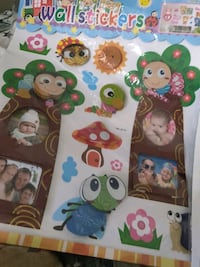 Wall stickers for baby room only 3 left huryup each is 5.00 .