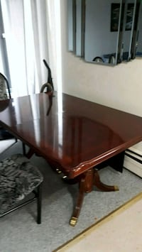 brown wooden table with chairs London, N6J 2V8