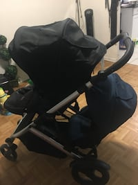 baby's black and gray stroller Toronto, M1R 1T1