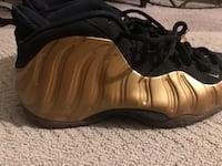 Nike Air Foamposite One Gold Size 12 District Heights, 20747