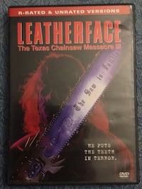 Leatherface - the Texas Chainsaw Massacre III DVD North Port, 34286