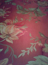 red and green floral textile Oklahoma City, 73114