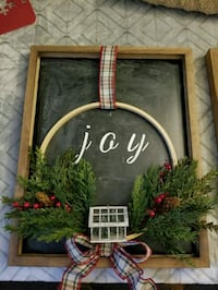 Joy holiday sign - 2 available