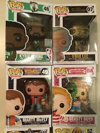 Funko NBA Irving, GPK Boyd, Marty McFly & Stan Lee Pops Cambridge, N1P 1A8