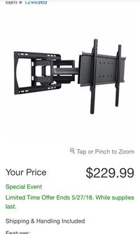 Amazing high quality tv wall stand from Costco  Santa Maria, 93455