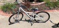 White and black hardtail mountain bike Thousand Oaks, 91320
