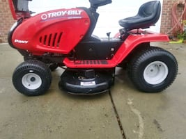 Troy bilt pony rider mower