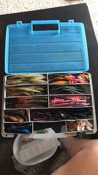 Fishing tackle, swimmers, all rubber worms and miscellaneous Mount Laurel, 08054