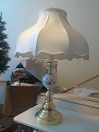 white and blue table lamp Tacoma