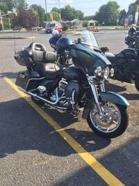 Black and gray touring motorcycle Pelham, 10803