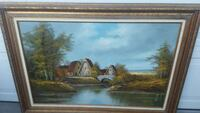 Reduced Very Large Oil Painting Prescott Valley, 86314