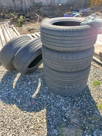 6 tires 285/60/18 load E tires Surrey, V3X 2A5