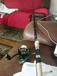 Basspro rod and reel    NEW London, N5W 4Z5
