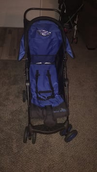 baby's blue and black stroller Hyattsville, 20782