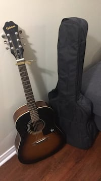 Guitar, Capo and Case  Brampton, L7A 1M9