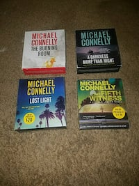 4 Michael Connelly #1 new york times best selling  Ojai, 93023