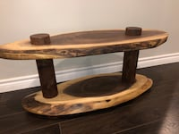 LIVE EDGE BLACK WALNUT COFFEE TABLE