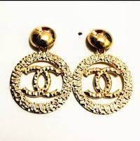 Chanel gold earrings New Orleans